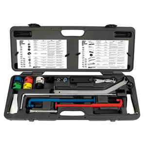 Master fluid & A/C disconnect tool set